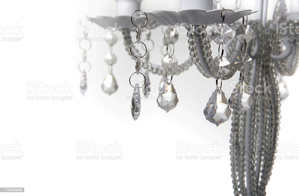 Candlestick crystal royalty-free stock photo