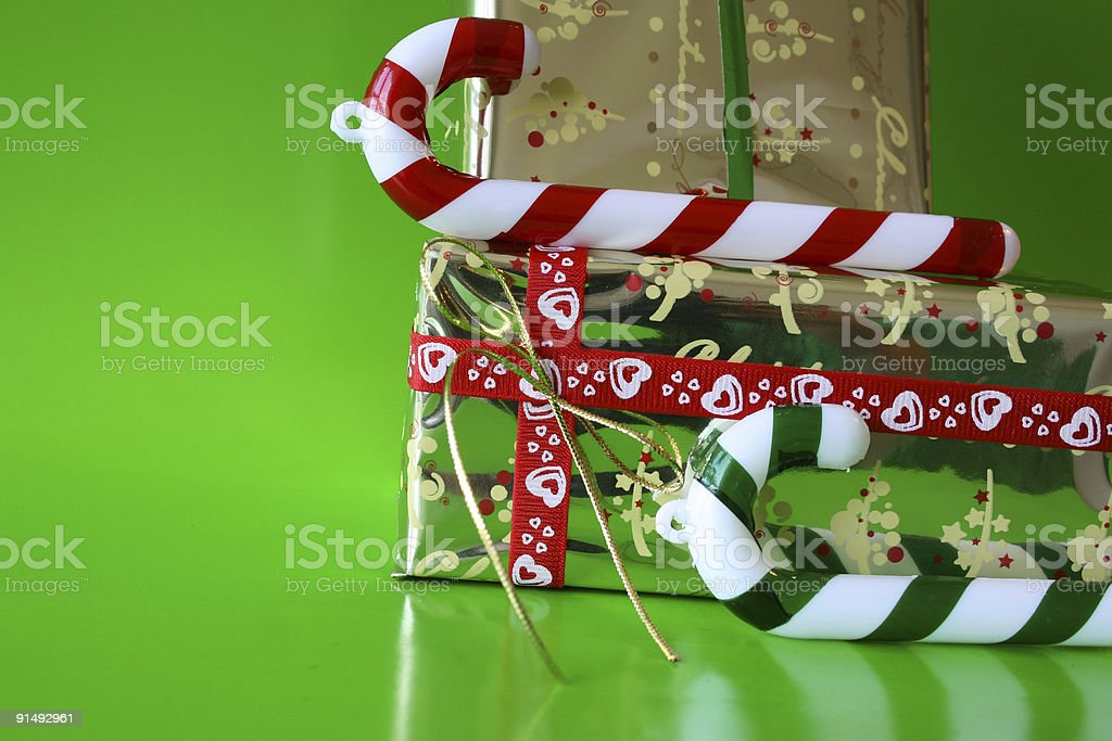 Candy and Gifts royalty-free stock photo