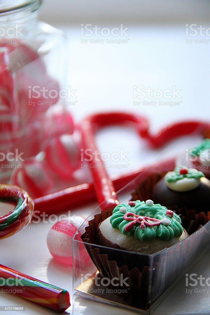 Cioccolato e muffin foto stock royalty-free