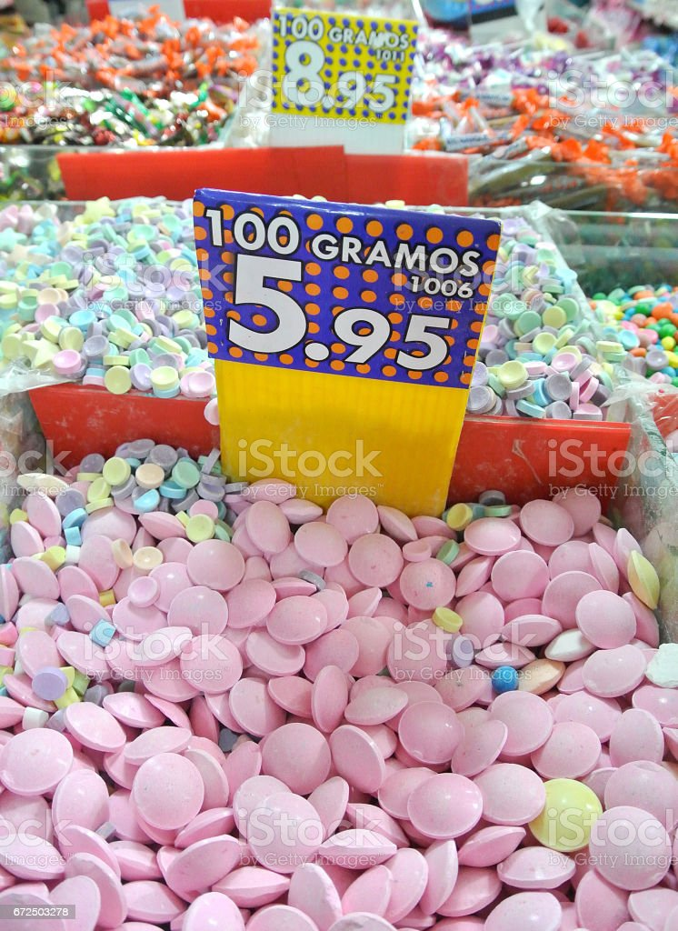 candy and sweets stock photo