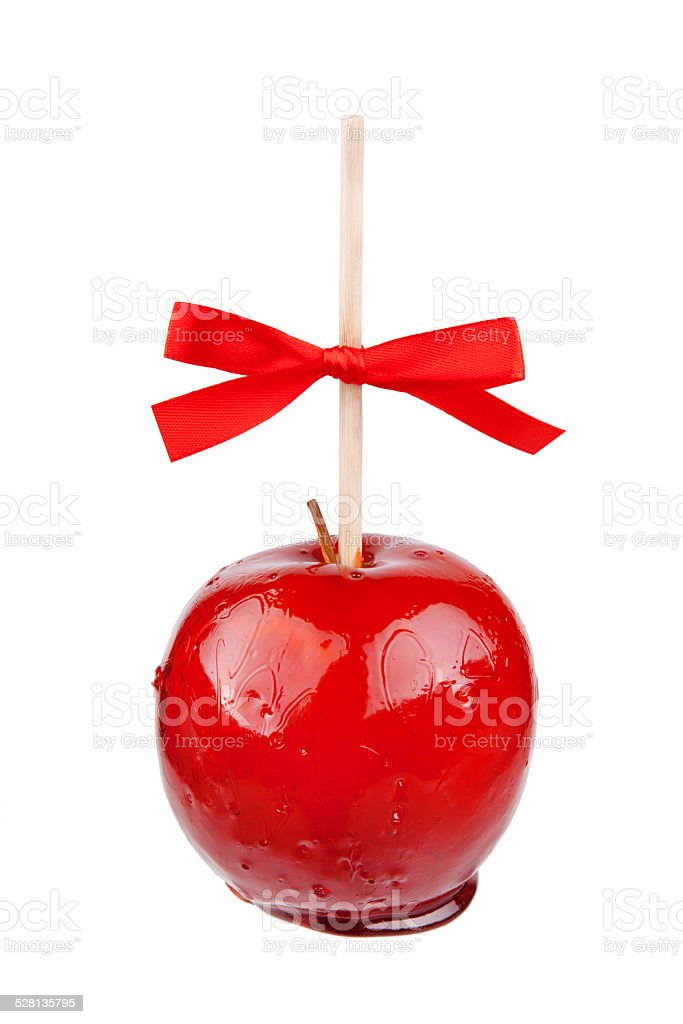 candy apple stock photo