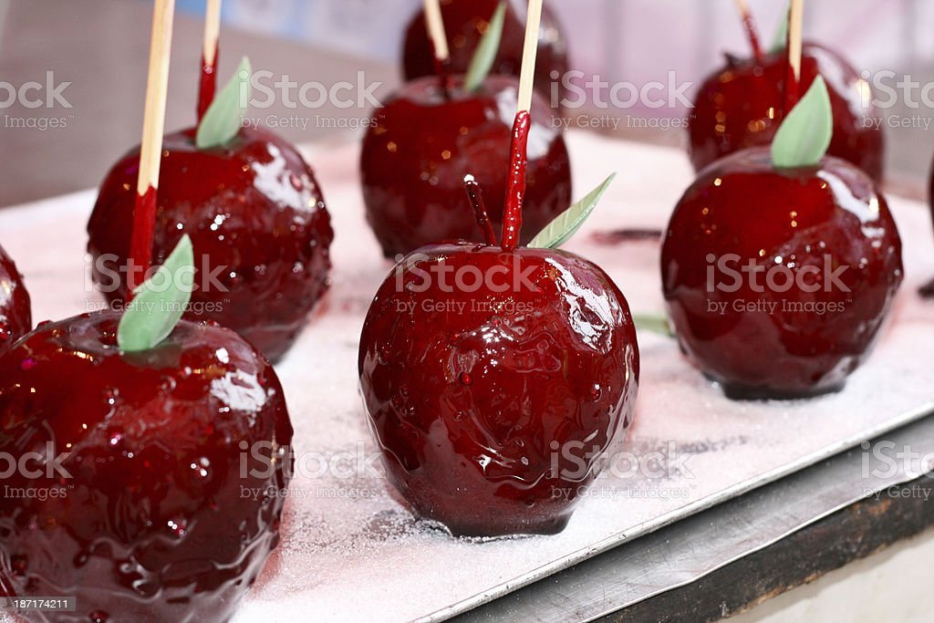 Candy Apples royalty-free stock photo