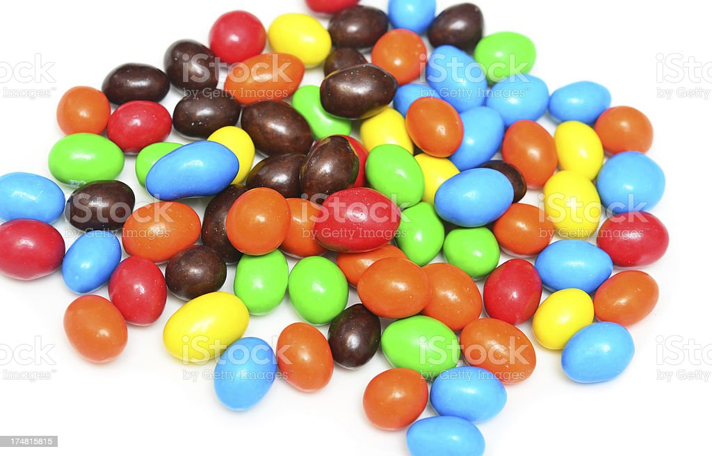 candy beans royalty-free stock photo