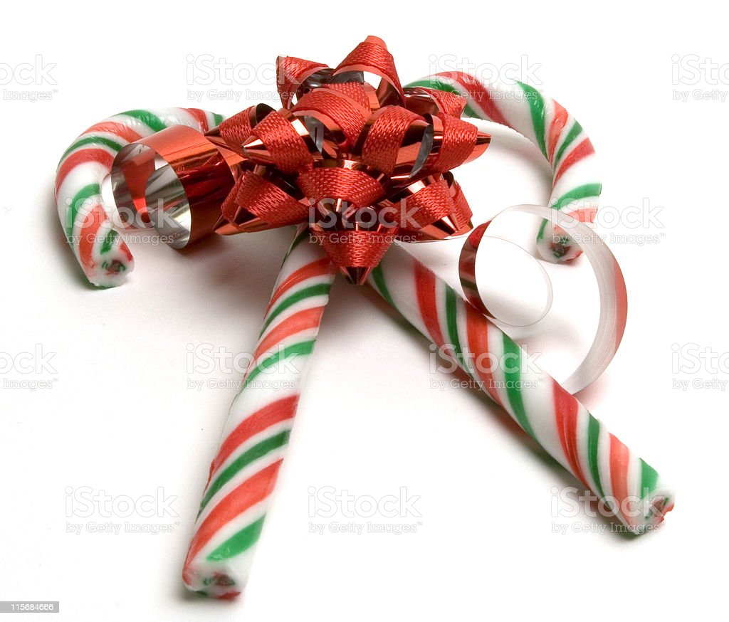 Candy bow royalty-free stock photo