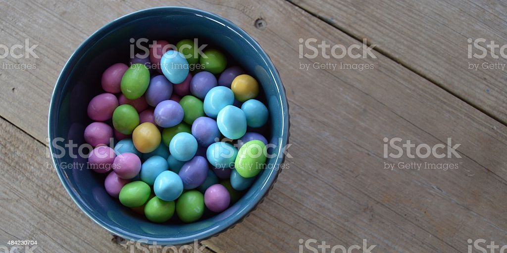 Candy-Bowl-Blues Lizenzfreies stock-foto