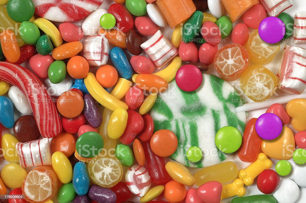 Candy, candy, candy royalty-free stock photo