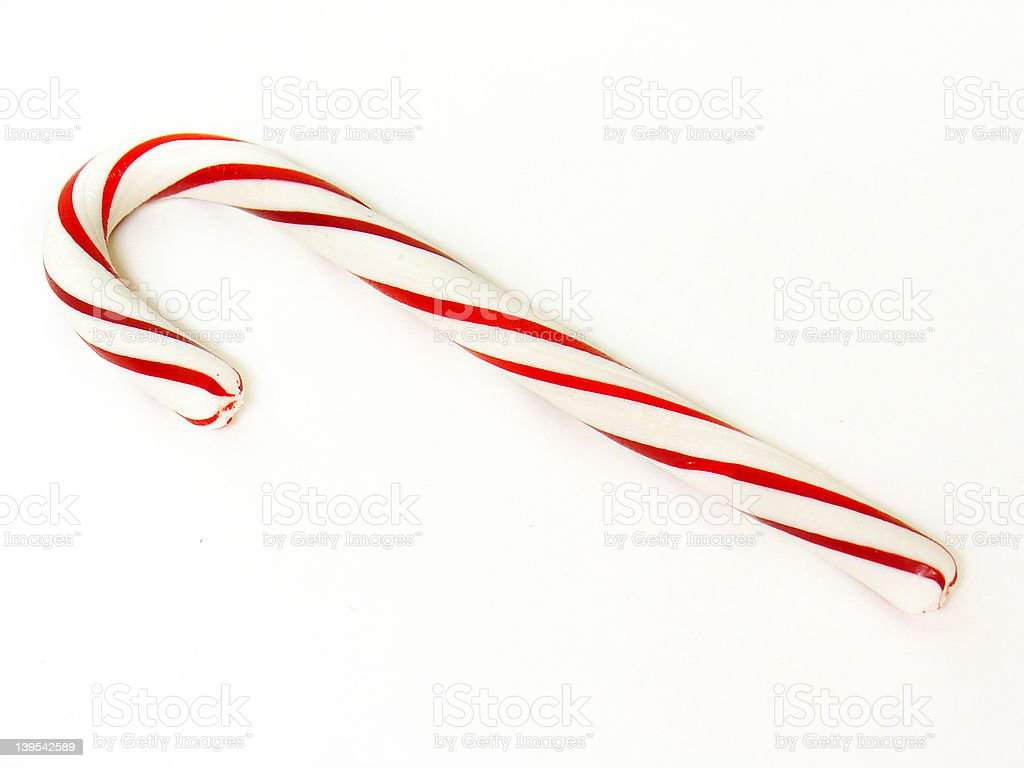 candy cane 2 royalty-free stock photo