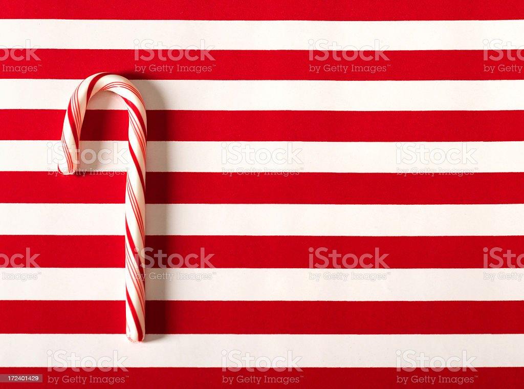 candy cane flag stock photo