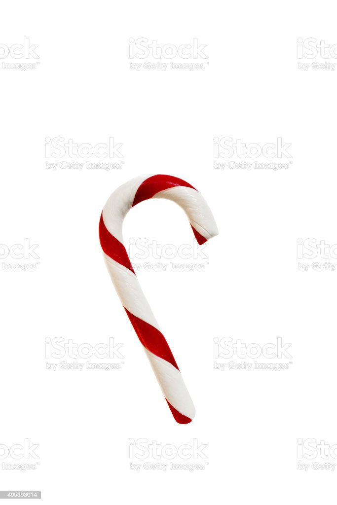Candy cane for Christmas stock photo