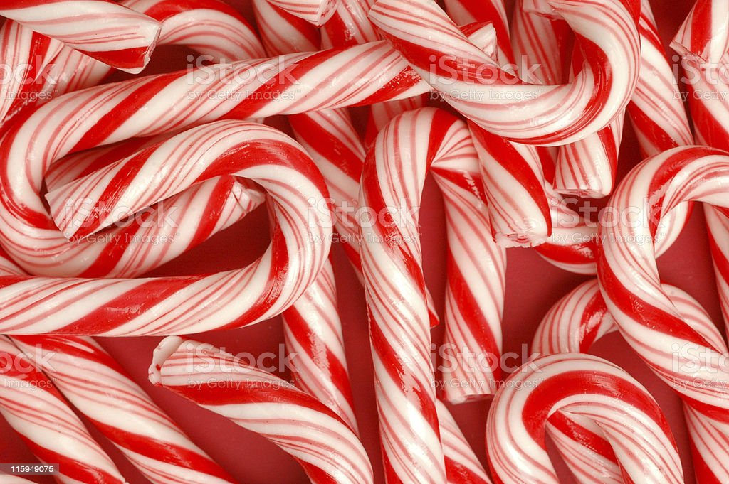 Candy Cane Pattern stock photo
