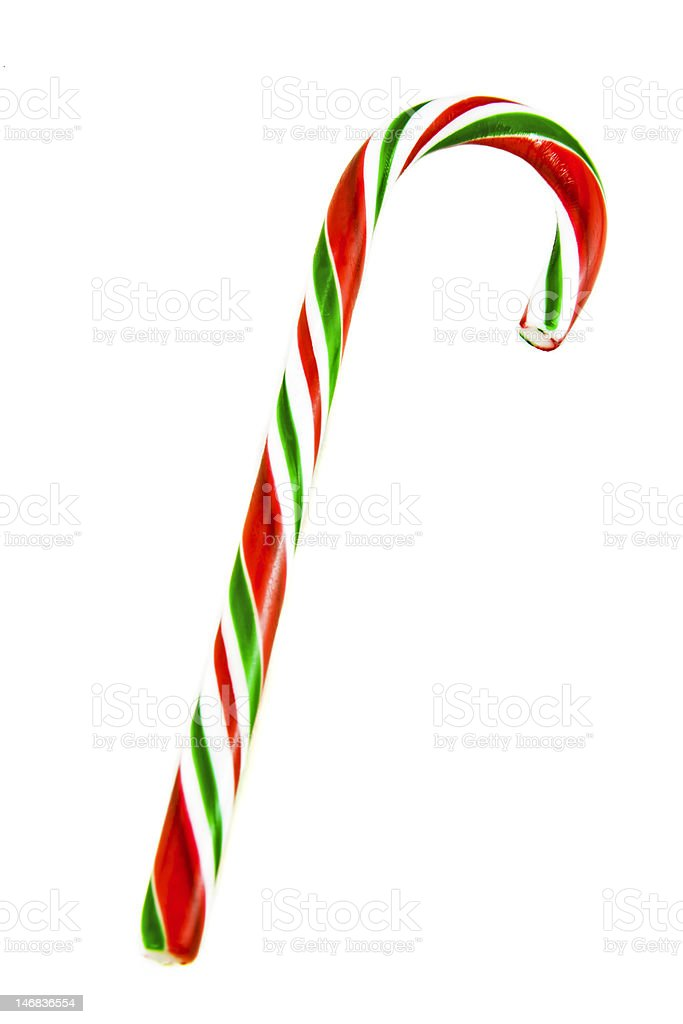 Candy Cane royalty-free stock photo