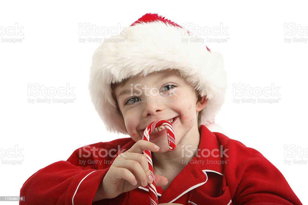 Candy cane. royalty-free stock photo