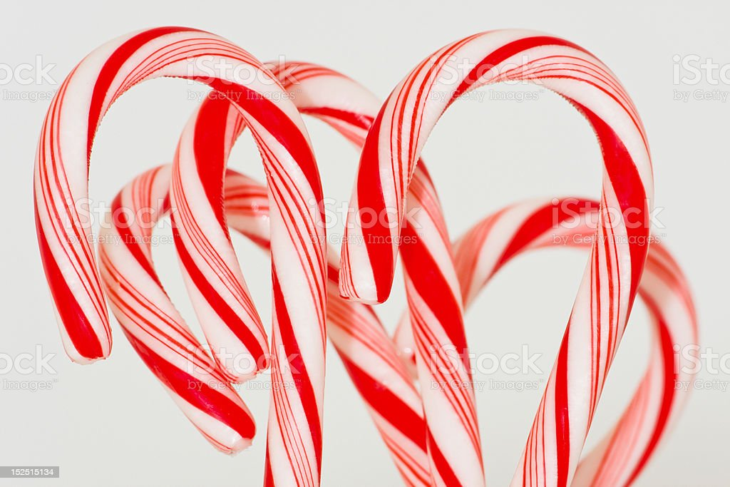 Candy Canes! royalty-free stock photo