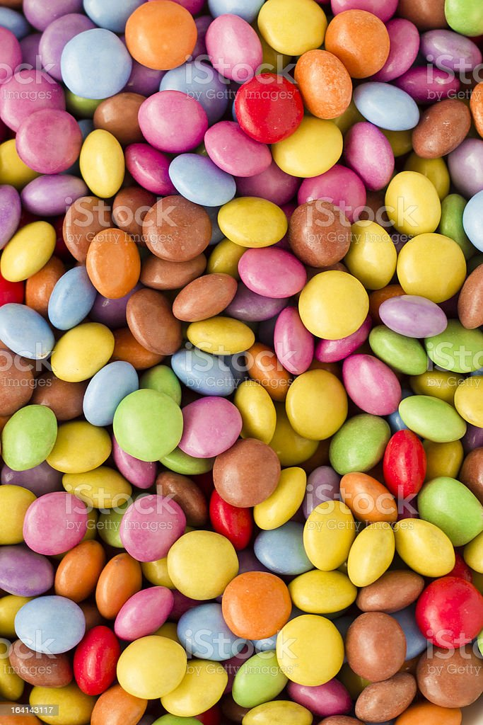 Candy close-up royalty-free stock photo
