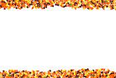 candy corn border w/ pumpkins