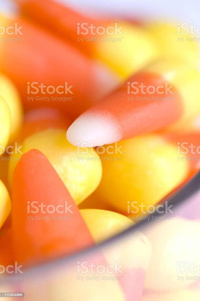 candy corn in a bowl royalty-free stock photo