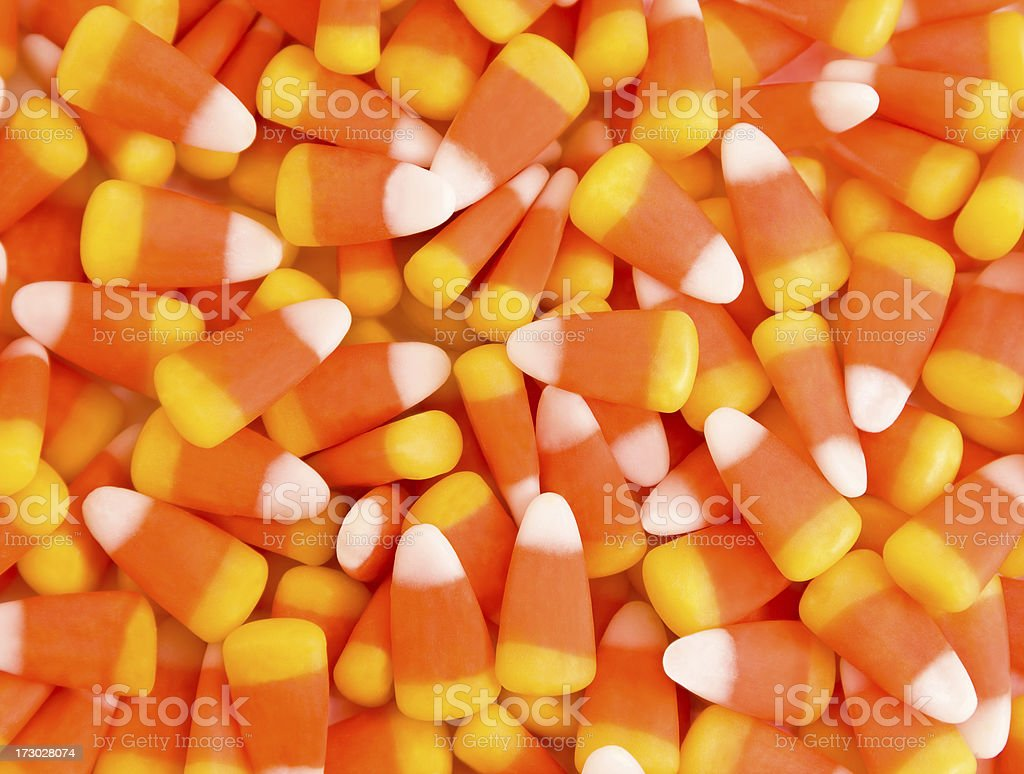 Candy corn stock photo