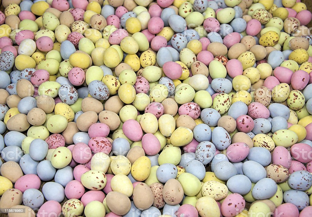 Candy Eggs Galore royalty-free stock photo