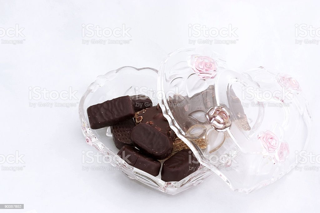 candy for my valentine royalty-free stock photo