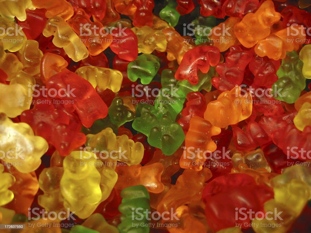 Candy - Gummy Bears royalty-free stock photo