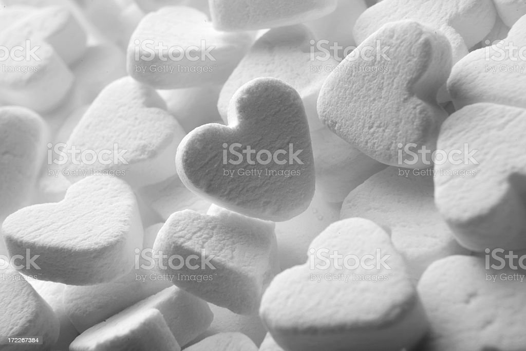 Candy: Heart Shaped royalty-free stock photo