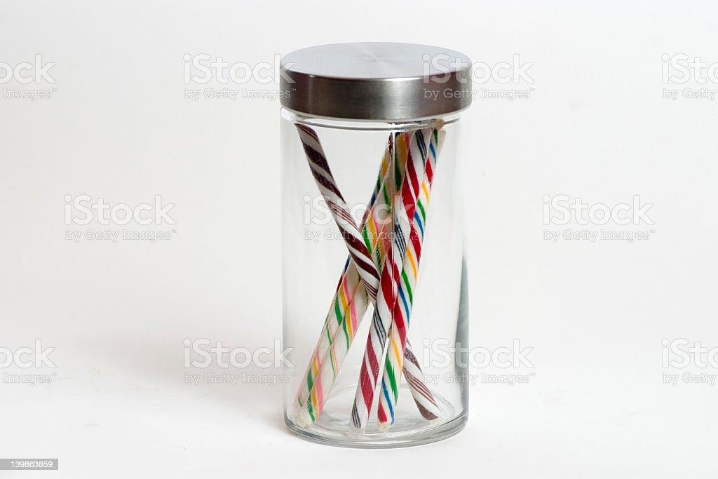 Candy Jar stock photo
