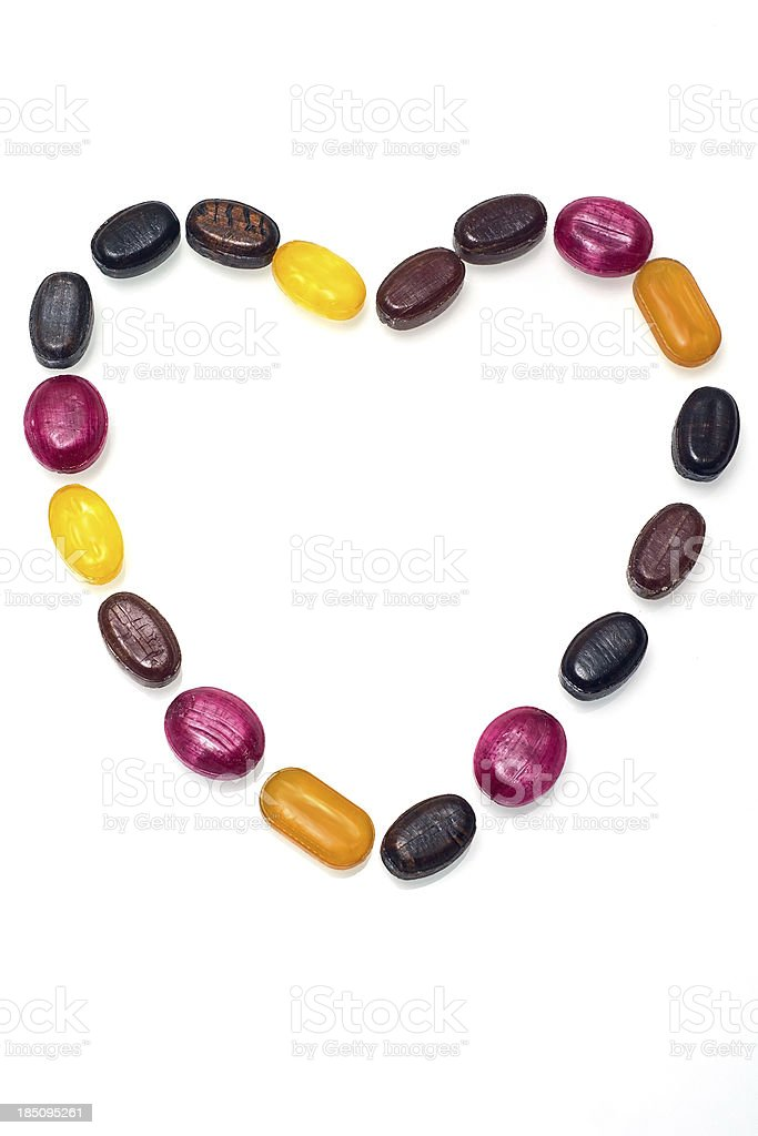 Candy Love royalty-free stock photo
