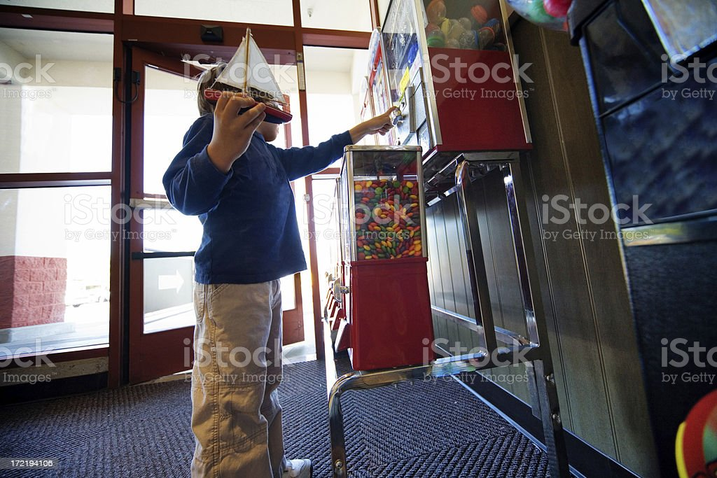 Candy Machine royalty-free stock photo