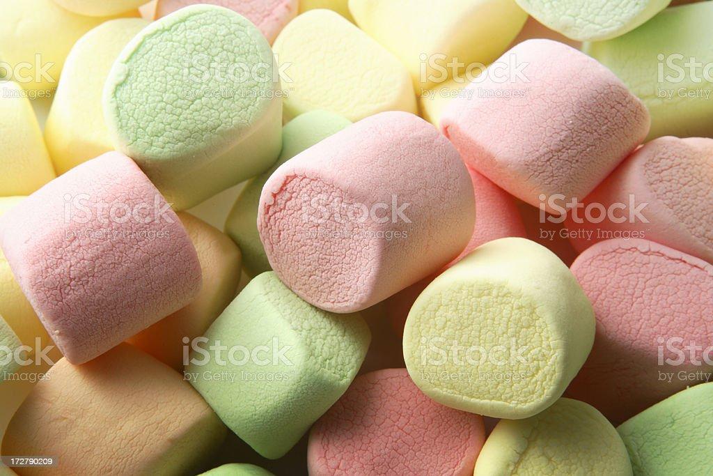 Candy: Marshmallow stock photo