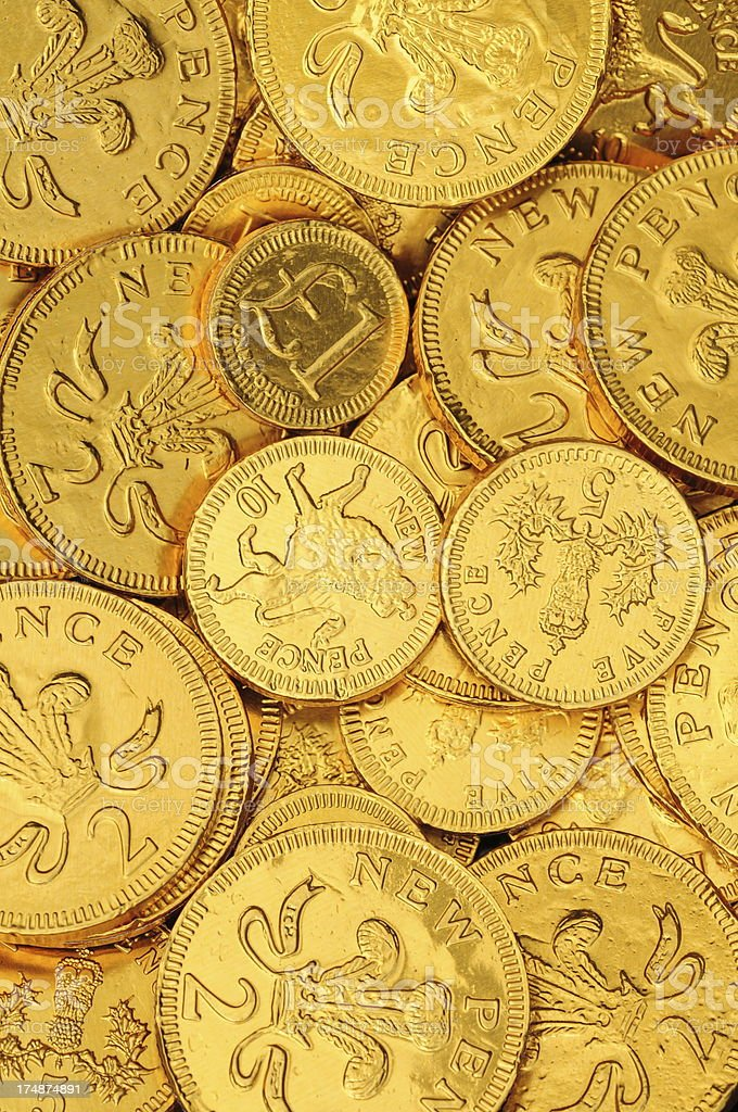 Candy money. royalty-free stock photo