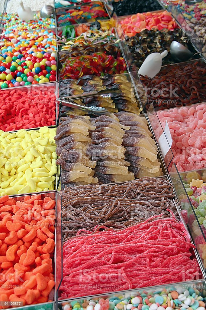 Candy Shop royalty-free stock photo