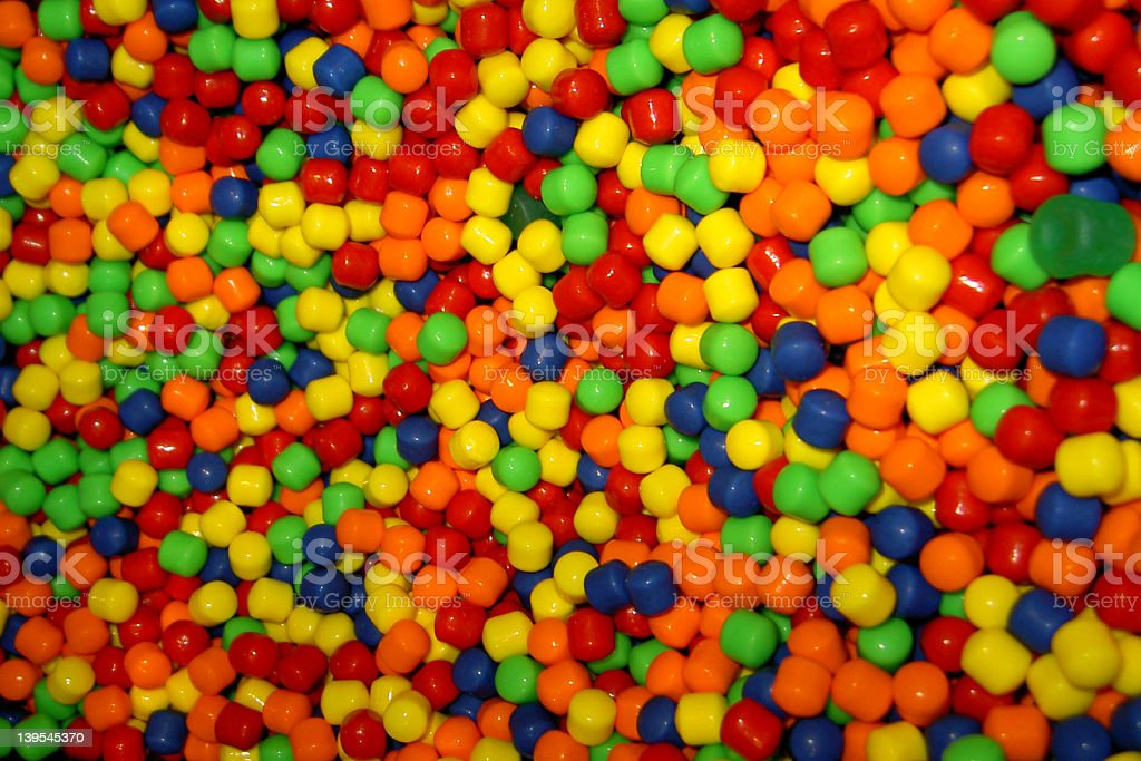 candy, small multicolored royalty-free stock photo