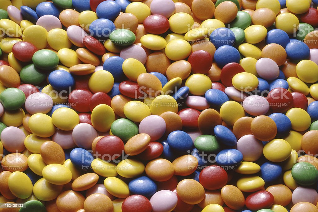 Candy: Smarties royalty-free stock photo