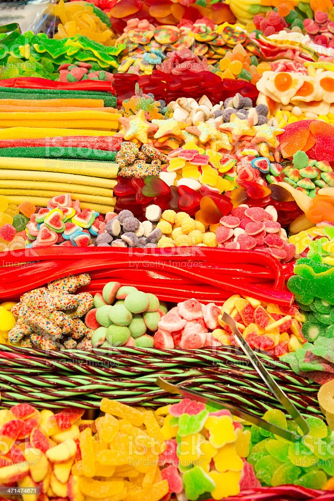 candy store royalty-free stock photo