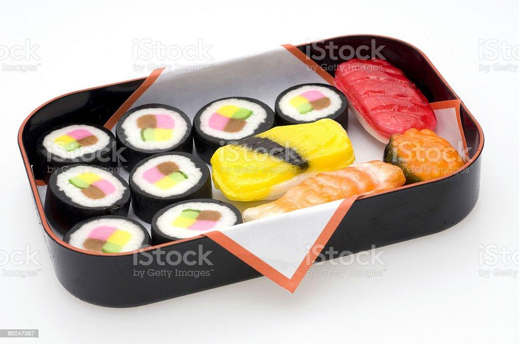 Candy Sushi royalty-free stock photo