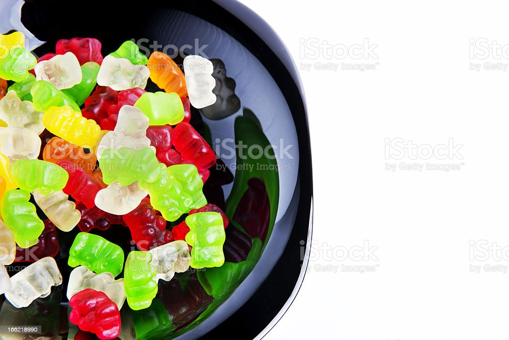 Candy_gummy_bear royalty-free stock photo