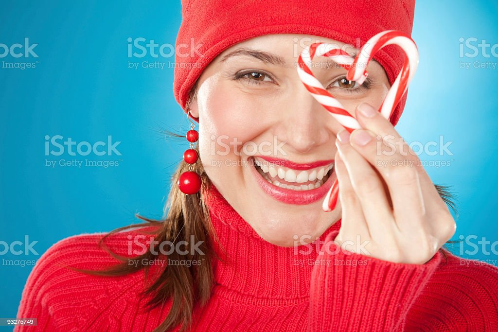 Candycanes royalty-free stock photo