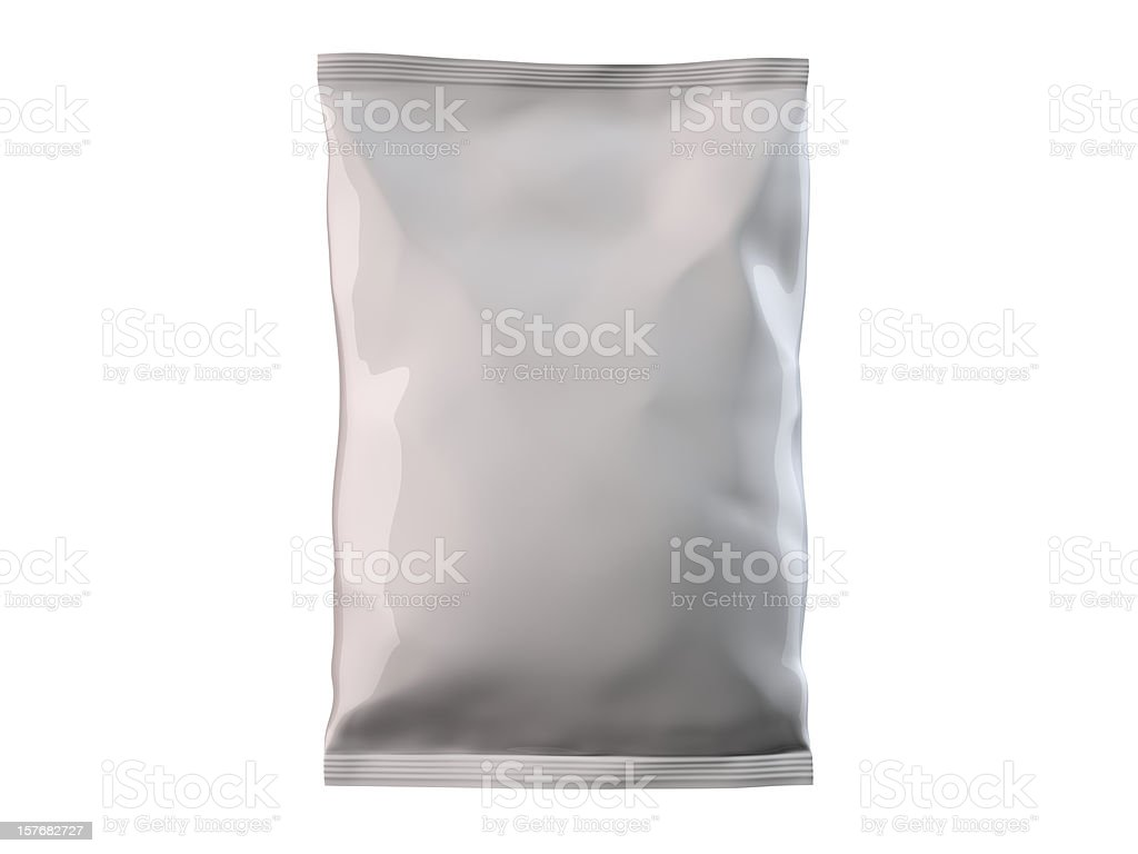 Candy/Chips bag stock photo