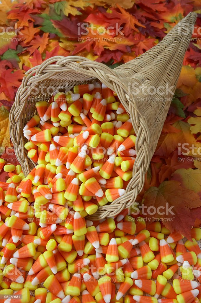 Candy-Corn-A-Copia royalty-free stock photo