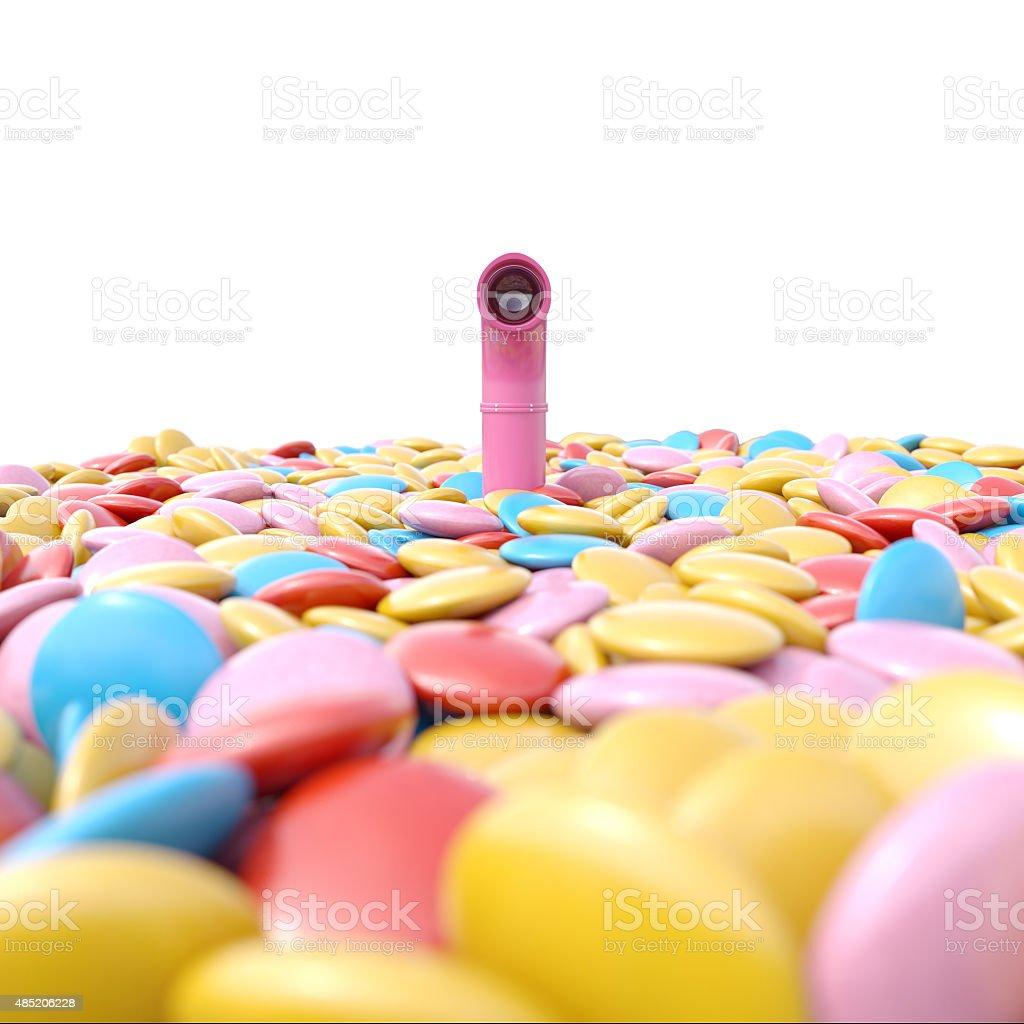 Candyland stock photo