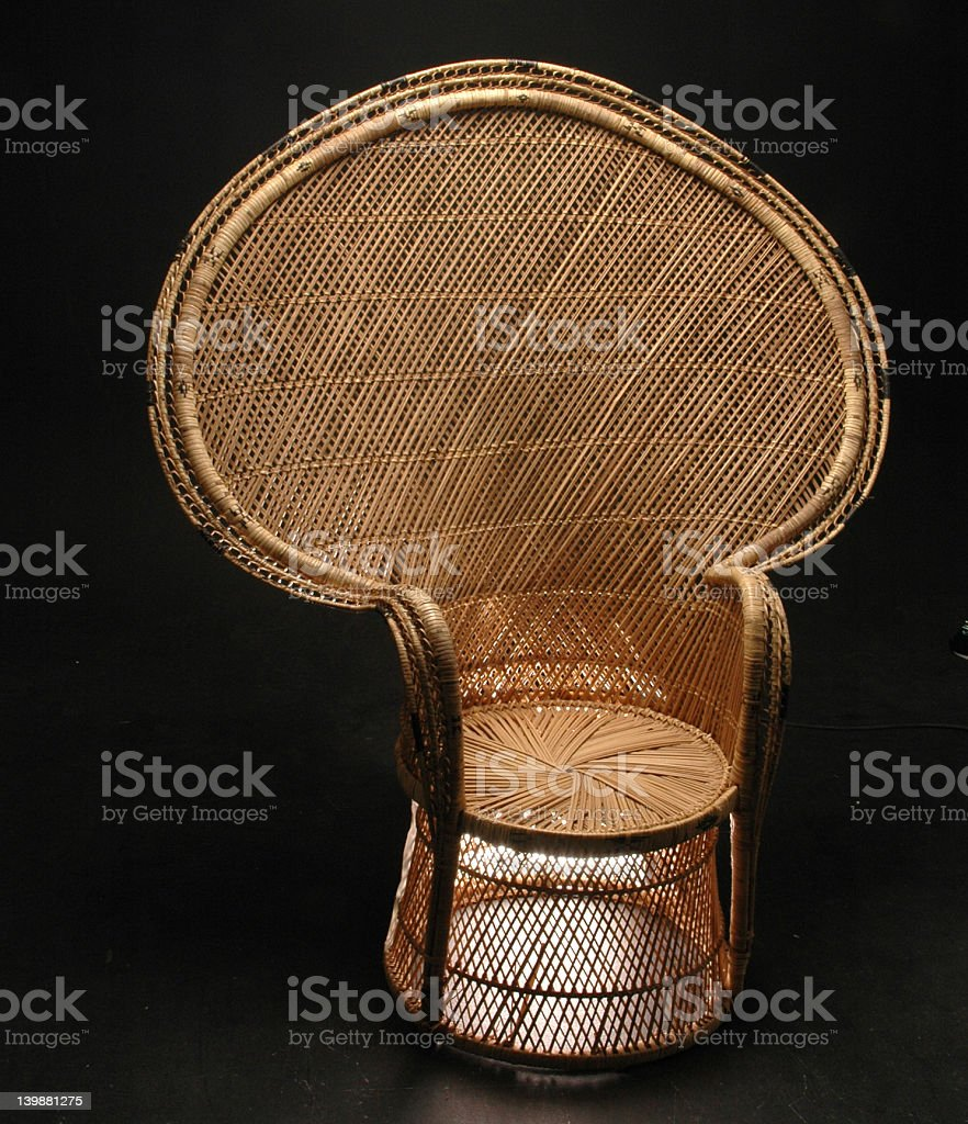 Cane Chair royalty-free stock photo