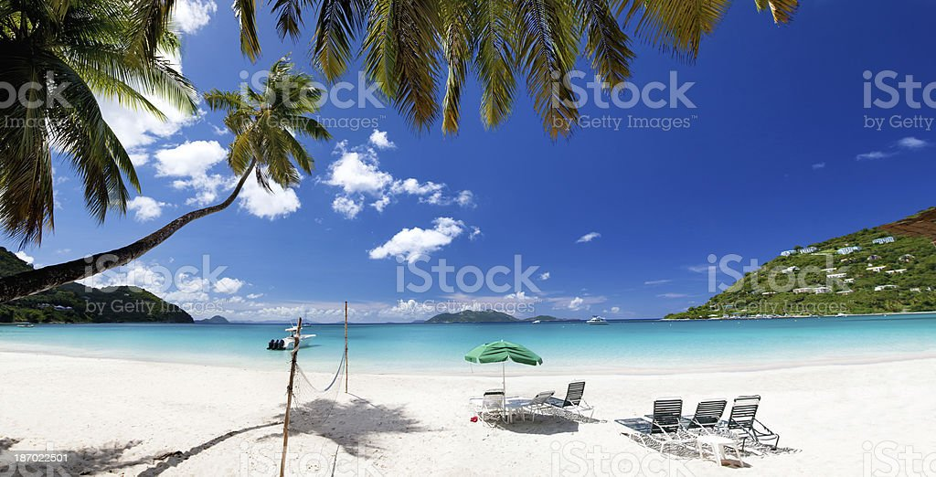Cane Garden Bay, Tortola, British Virgin Islands royalty-free stock photo