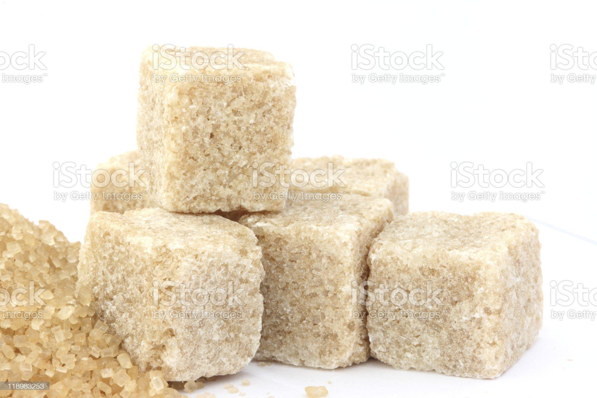 Cane sugar royalty-free stock photo