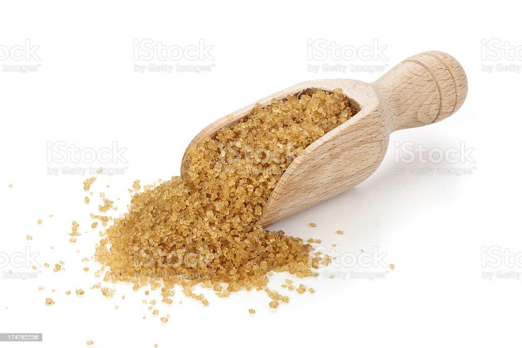 Cane Sugar. stock photo