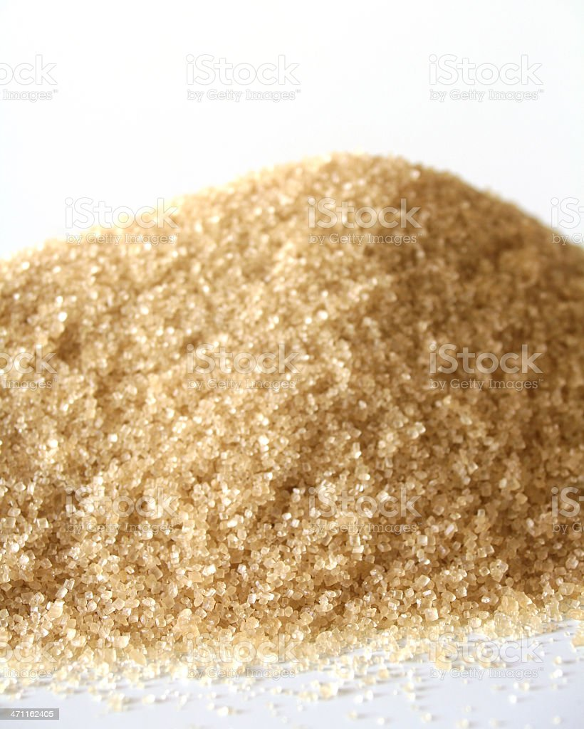 Cane Sugar stock photo