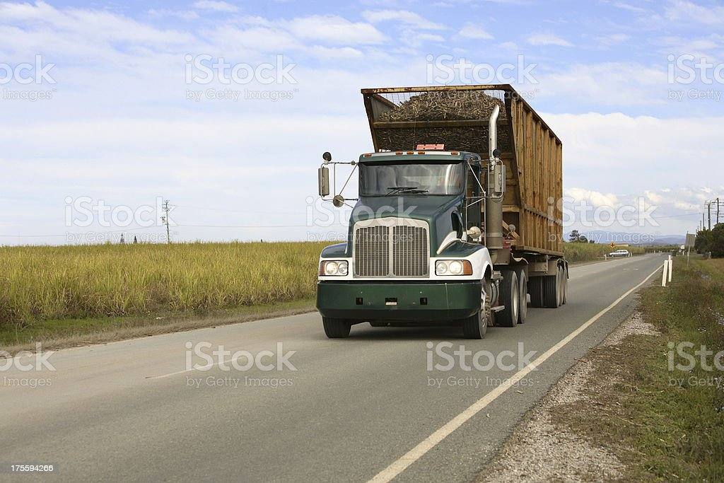 Cane Truck stock photo