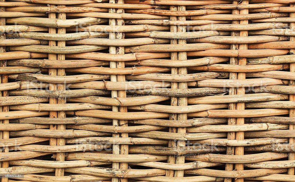 Cane Weaved royalty-free stock photo