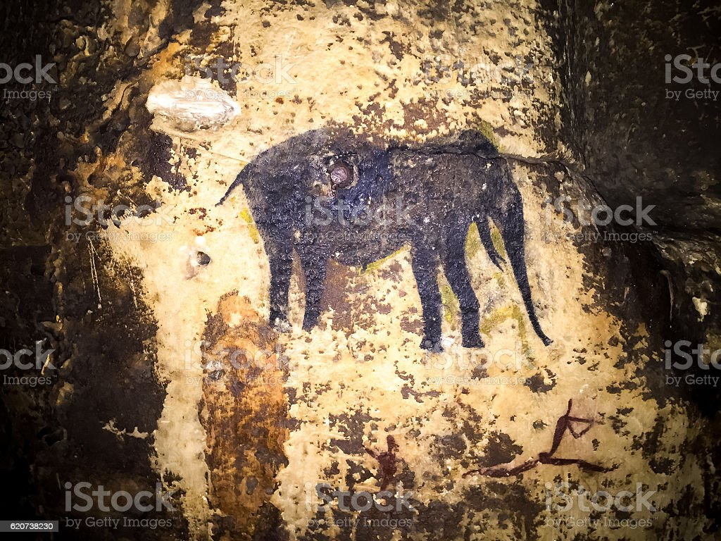 Cangoo caves, Oudtshoorn, South Africa stock photo