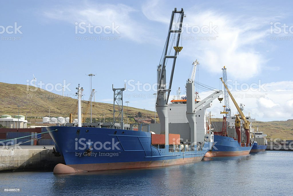 Canical Containers royalty-free stock photo