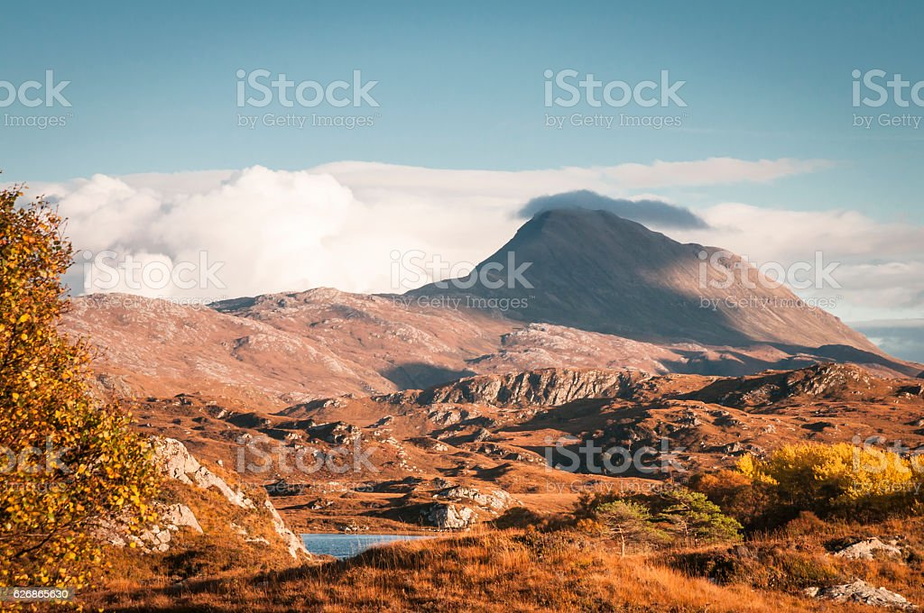 Canisp and cloud stock photo